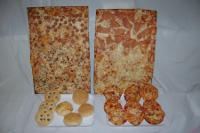 Assortimento pizze e focacce